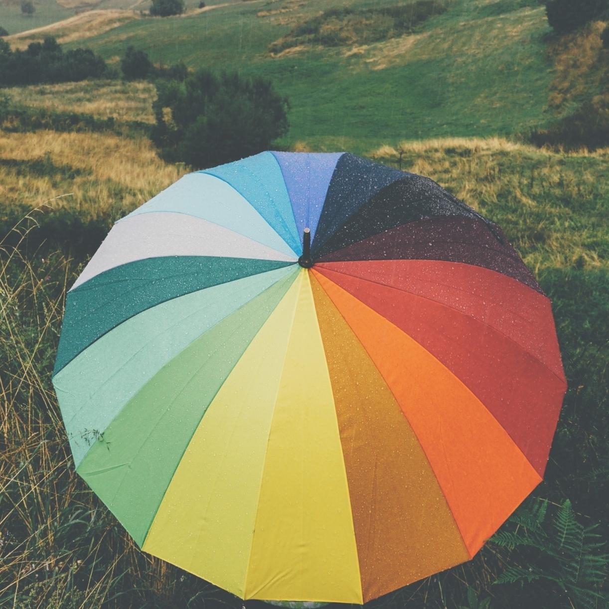 Paraplu regenboog